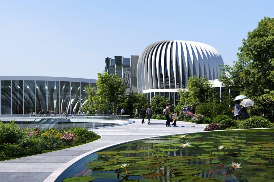 Project Unicorn Island masterplan by Zaha Hadid