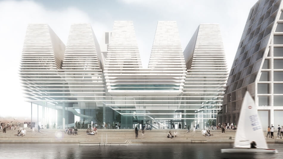 Waterfront Cultural Centre by AART Architects