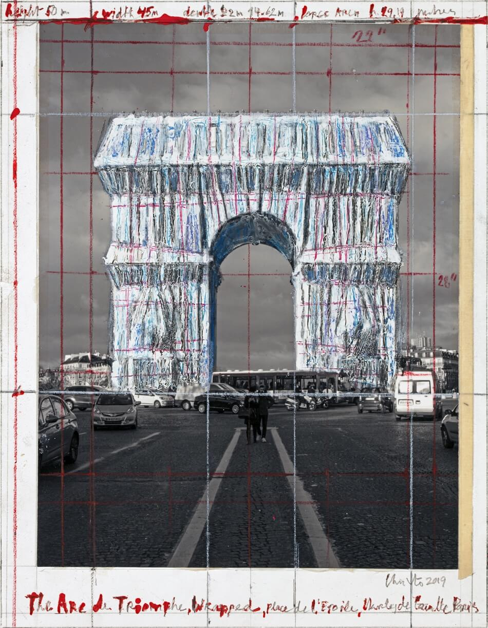 Arc de Triomphe Wrapped