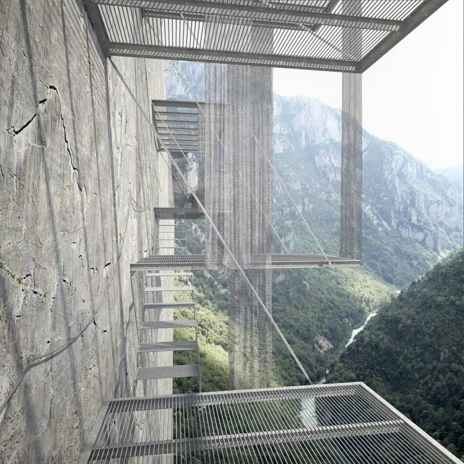 Christophe Benichou Architectures Balcons Verdon Balconies 05