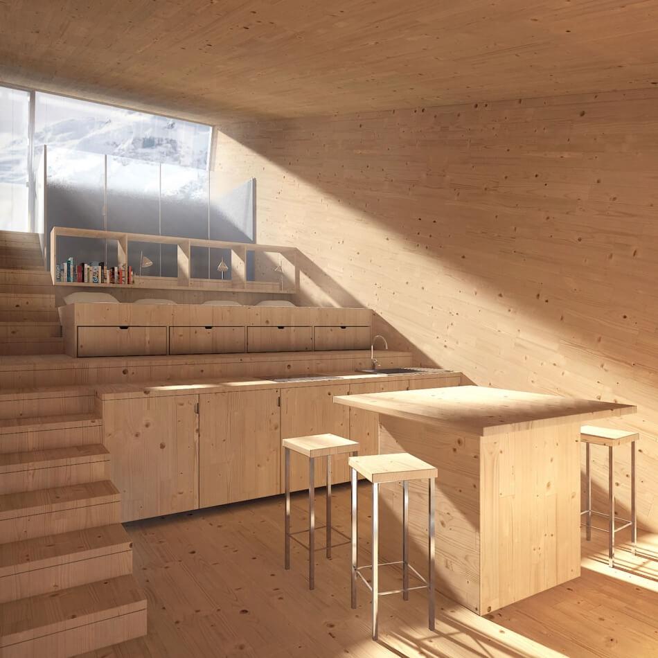 The Sliding Shelter by Christophe Benichou Architectures
