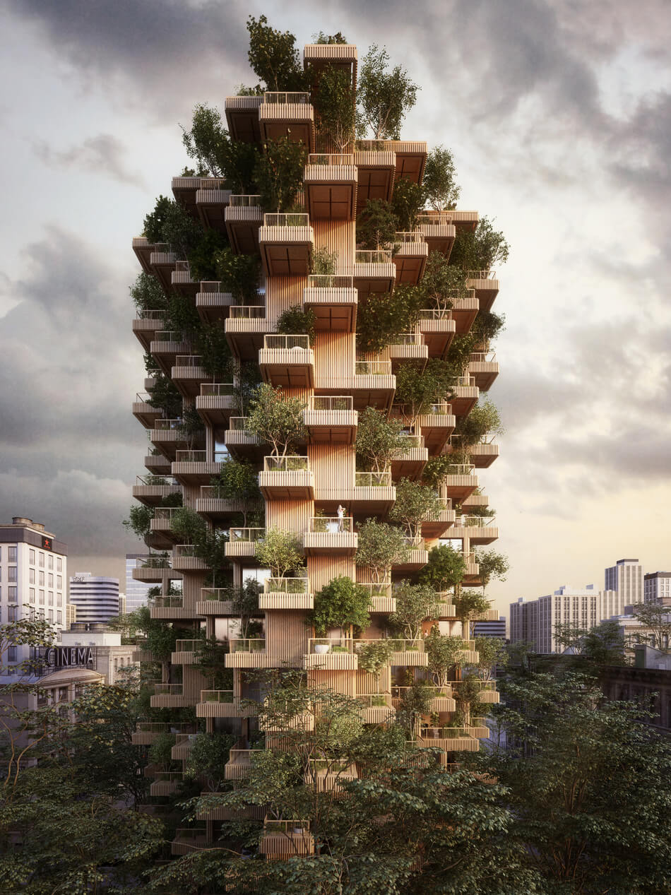 The Toronto Tree Tower By Studio 'Precht'