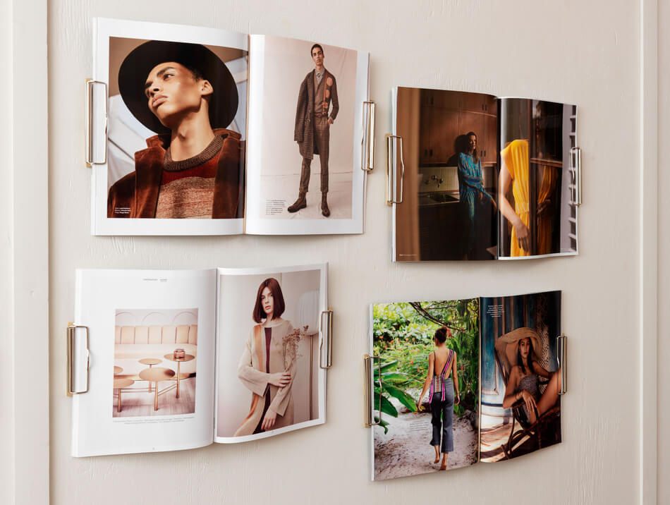 Magazine Wall Hanger 003