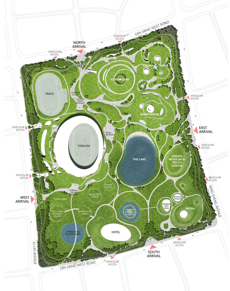 Mad Quzhou Sports Campus Sd Masterplan 05