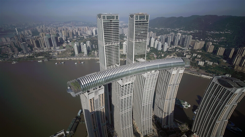 Raffles City Chongqing by Safdie Architects