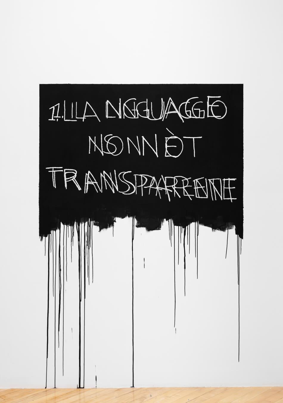 Bochner Language Is Not Transparent Italian English 1970 2019