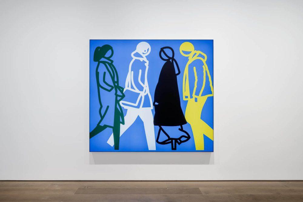 Julian Opie at Lisson Gallery Shanghai