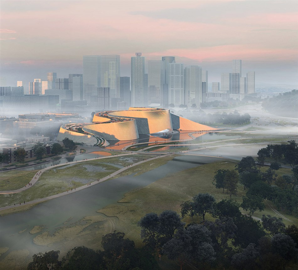 The New Shenzhen Natural History Museum By B+h, 3xn, And Zhubo Design 1