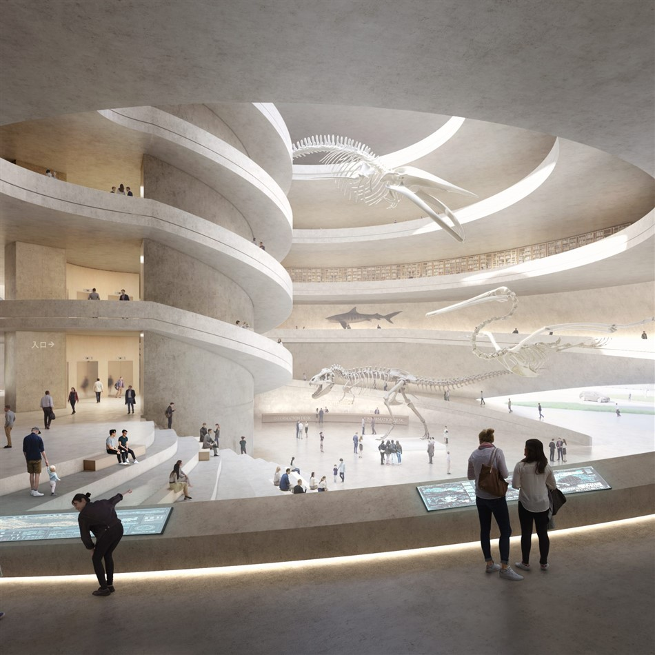 The New Shenzhen Natural History Museum By B+h, 3xn, And Zhubo Design 3