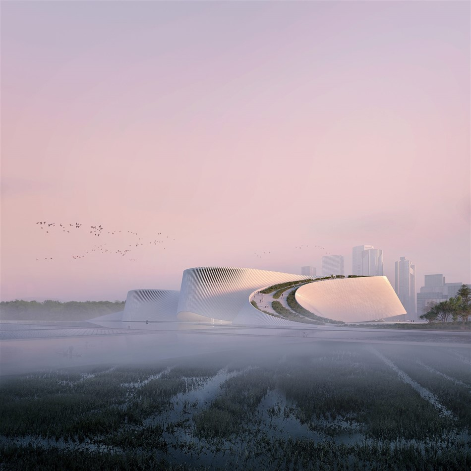 The New Shenzhen Natural History Museum By B+h, 3xn, And Zhubo Design 4