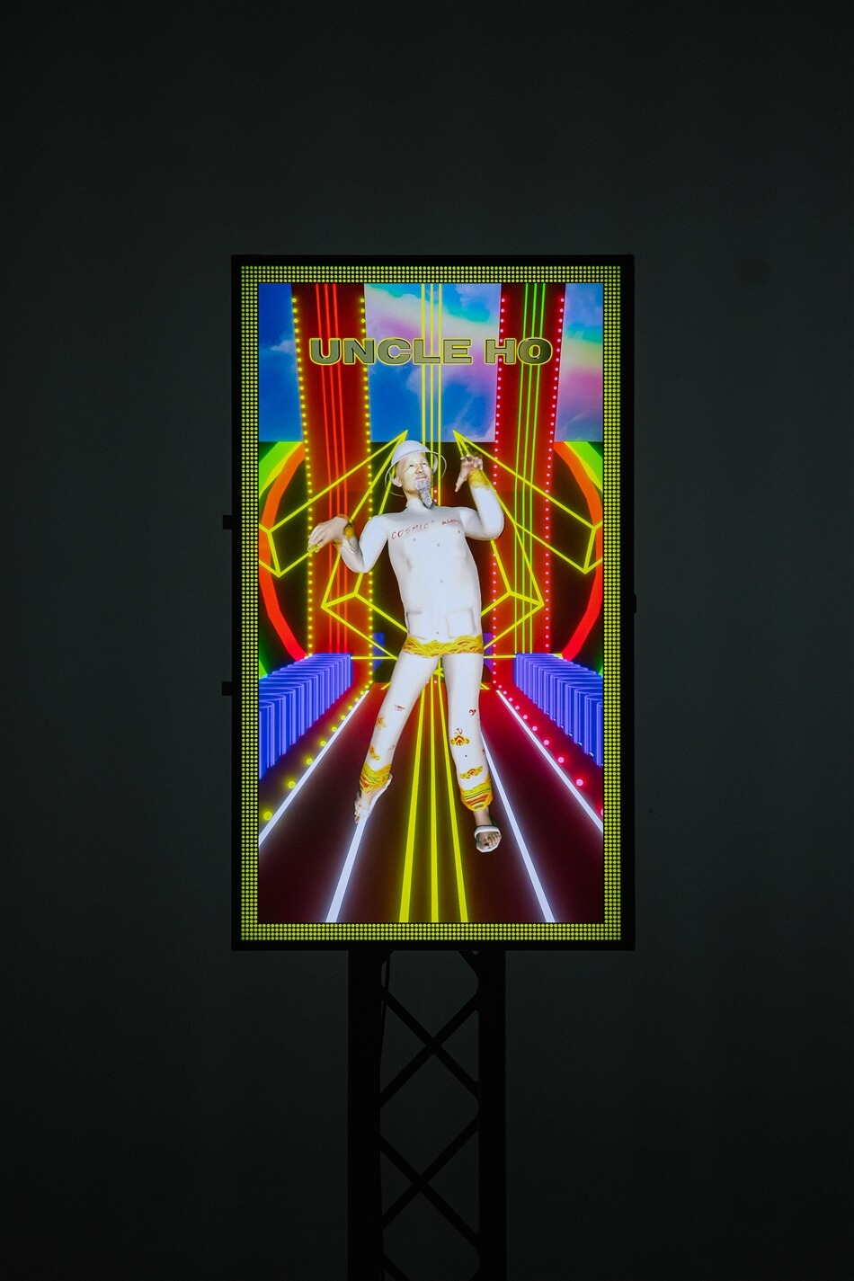 Detail Choy Ka Fai, Getai Of Virtual Gods , 2021 Image Courtesy Of Singapore Art Museum