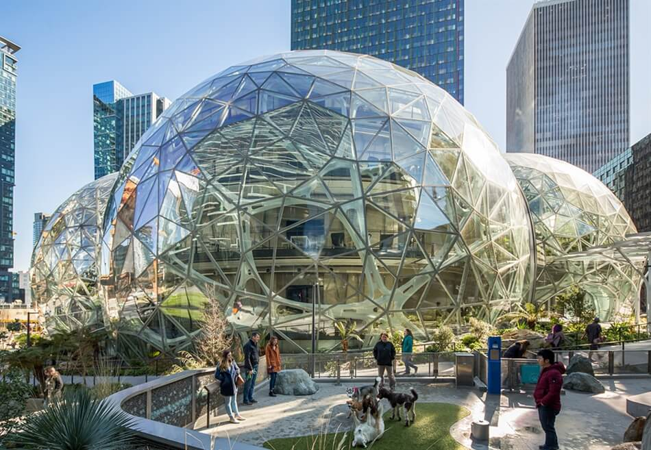 Amazon in the Regrade by NBBJ
