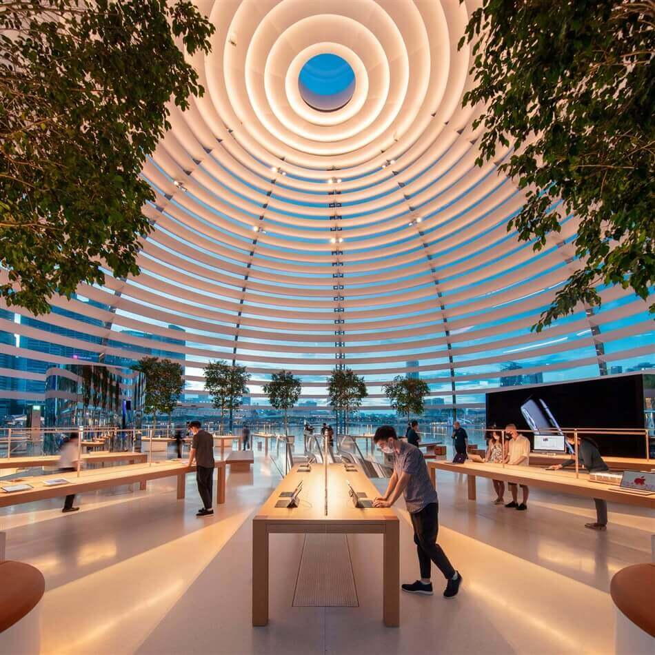 Apple Marina Bay Sands by Foster + Partners