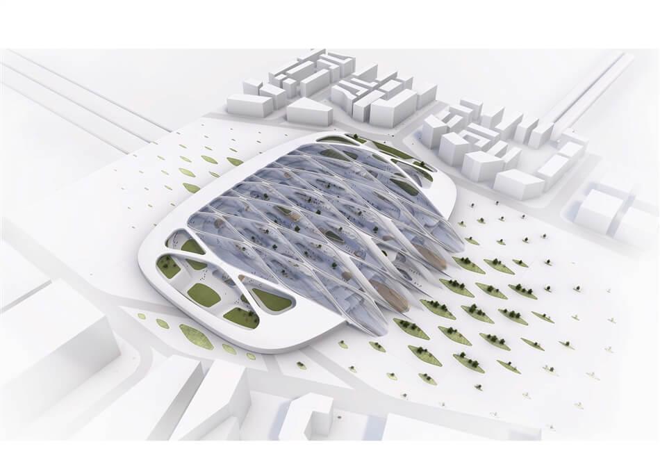 Hardt Hyperloop by UNStudio