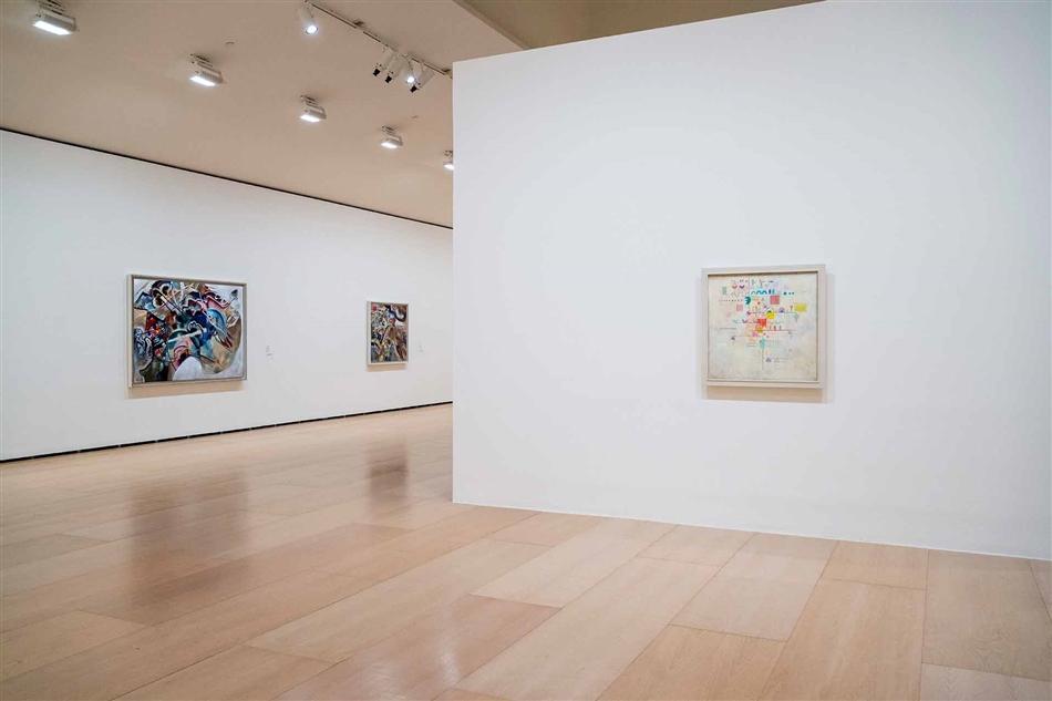 kandinsky at Museo Guggenheim Bilbao