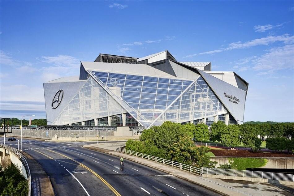 Mercedes-Benz Stadium by HOK