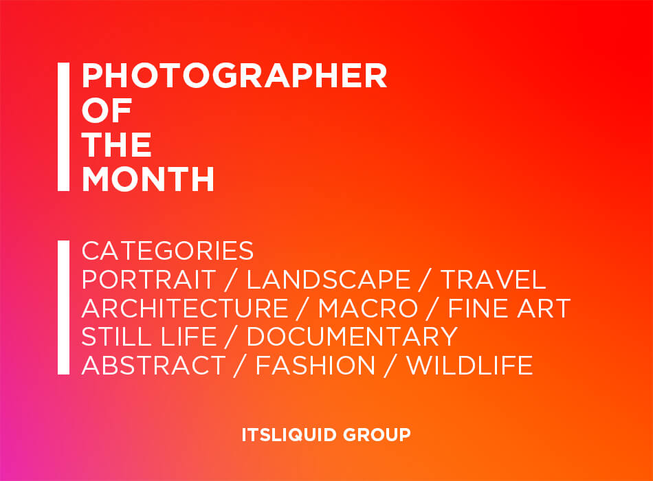 Photographer Of The Month Categories