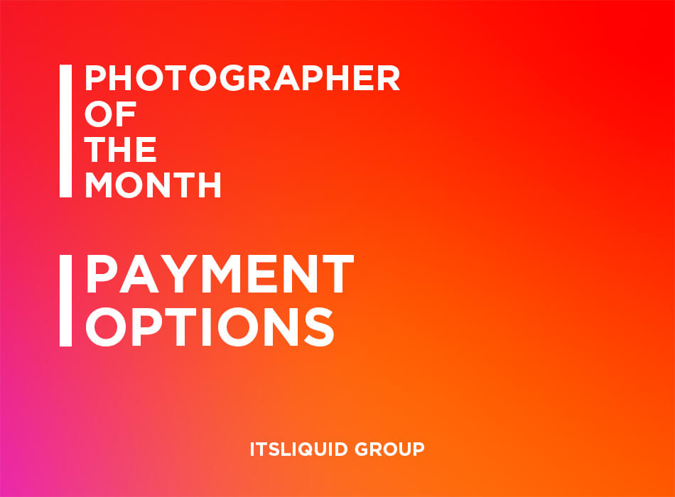 Photographer Of The Month Payment