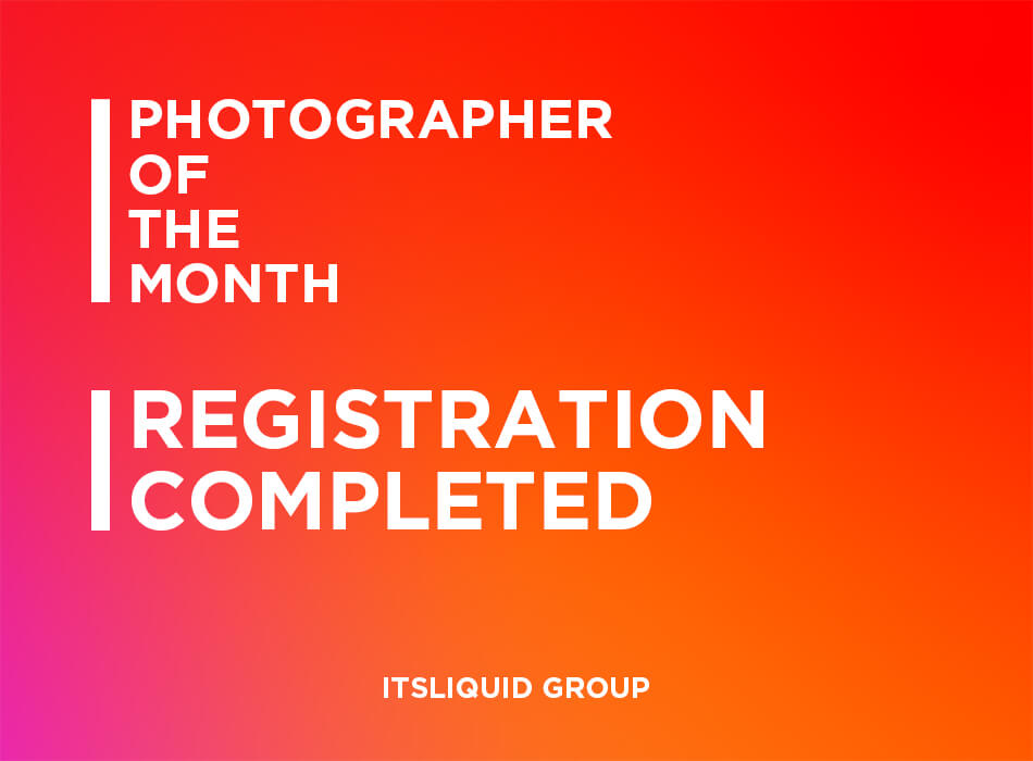 Photographer Of The Month Registration