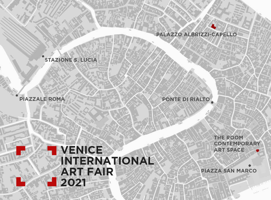 Venice Art Fair Map 2021