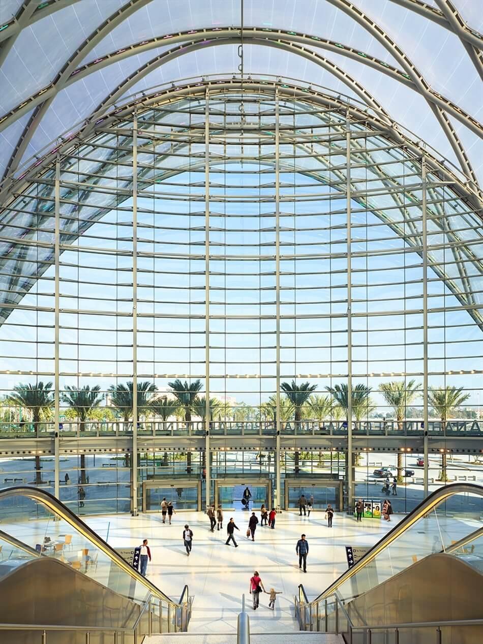 Anaheim Regional Transportation Intermodal Center (ARTIC) by HOK