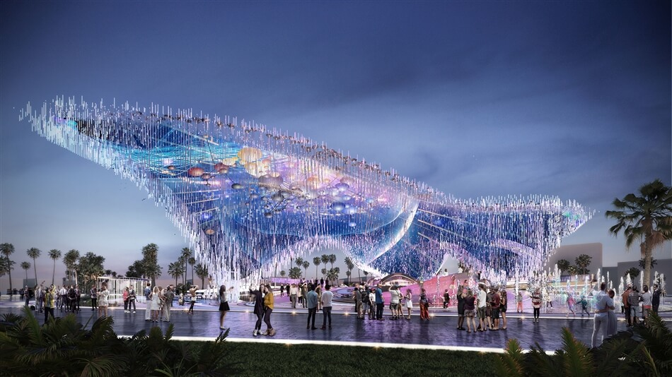 Proposal for an Expo Pavilion by 10 Design