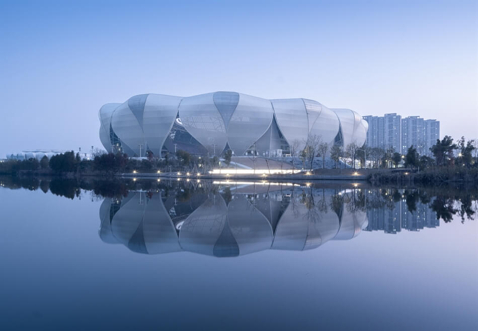 Hangzhou Olympic Sports Center by NBBJ