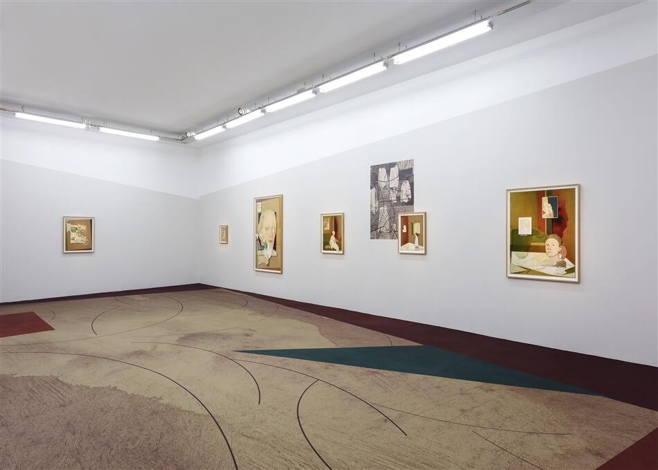 Jens Fänge. Inner Songes at Galerie Perrotin
