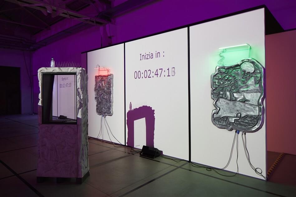 Neïl Beloufa. Digital Mourning