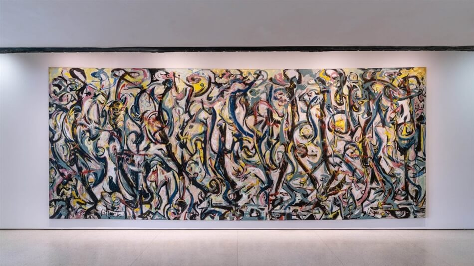 Away from the Easel: Jackson Pollock's Mural at Solomon R. Guggenheim Museum