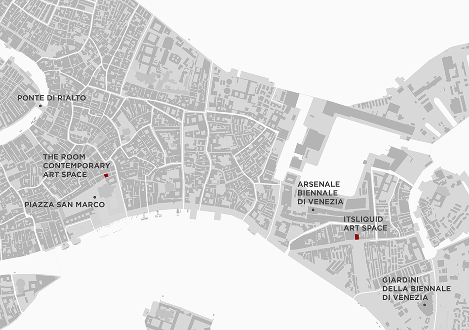 Venezia Location Map