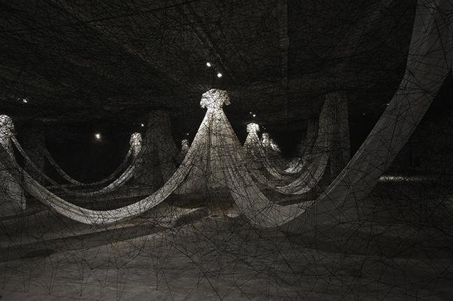 Chiharu Shiota S Installations Itsliquid Group