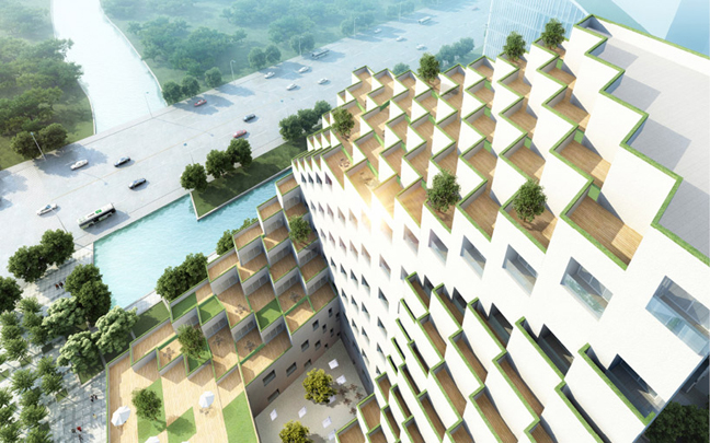 JDS Architects Hangzhou Waves Its LIQUID Group