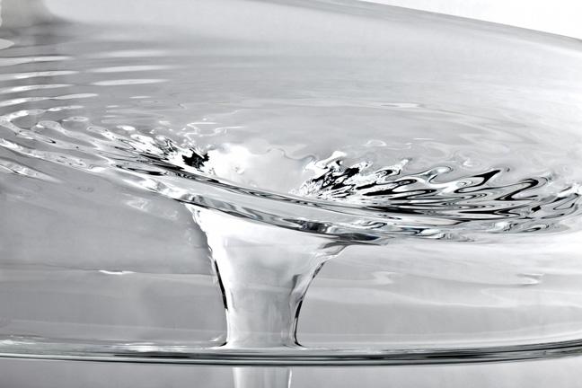 The liquid glacial table by zaha hadid it 39 s liquid group for Zaha hadid liquid glacial table